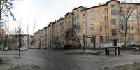 photo, panorama, Lviv, yard